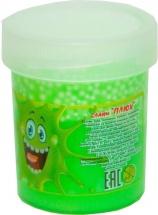 Слайм Плюх с шариками, зеленый