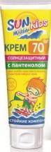 Крем солнцезащитный Биокон Sun Marina Kids для особо чувствительных участков лица и тела SPF 70 50 мл