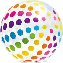Мяч Intex Цветные горошинки 107 см