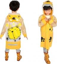 Дождевик детский Amico Тигренок размер М (110 см), желтый