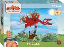 Пазлы Steppuzzle Мельница Три богатыря 80 элементов