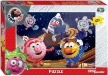 Пазлы Steppuzzle Riki Любимые сказки. Смешарики в космосе 120 элементов