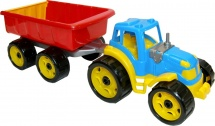 Трактор Орион с прицепом
