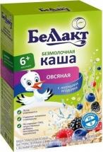 Каша Беллакт безмолочная овсяная с лесными ягодами с 6 мес 200 г