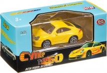 Машинка Play Smart Супер Турбо Спорт, желтый