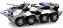 Машинка Play Smart Танк БТР-80 световые и звуковые эффекты