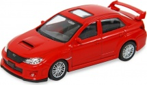 Машинка AutoTime Subaru WRX STI, красный