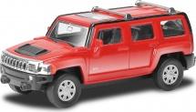 Машинка AutoTime Hummer H3, красный