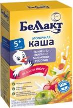 Каша Беллакт молочная рисовая тыква-яблоко-морковь с 5 мес 250 г