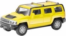 Машинка AutoTime Hummer H3, желтый
