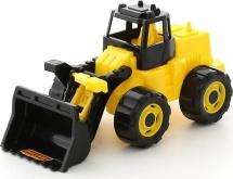 Трактор Полесье Геракл Погрузчик, желто-черный