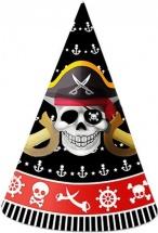 Набор колпаков Пират, 6 шт