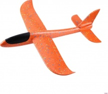 Самолет-планер 35 см, оранжевый