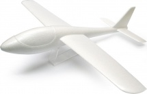 Самолет-планер Рисуй сам 48 см с LED подсветкой