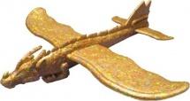 Самолет-планер Дракон, оранжевый