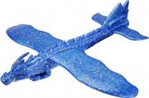 Самолет-планер Дракон, синий