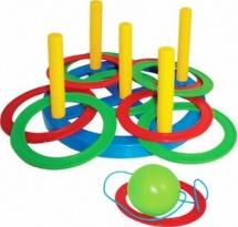 Игровой набор Кольцеброс и Поймай мячик 2в1
