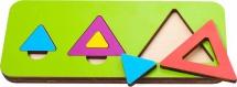 Вкладыши Орион Треугольник в ассортименте 6 элементов