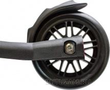Самокат Buggy Boom Alfa Model 3-х колесный с цветными колесами, бирюзовый