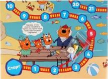 Игра-ходилка Умка Три кота Рыбалка