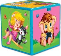 Говорящий кубик Азбукварик Любимые мультяшки