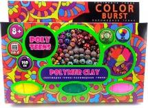 Набор полимерной глины для лепки Poly Teens Color Burst