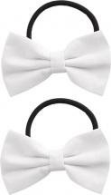 Резинки для волос Mary Poppins Бантики 2 шт, белый