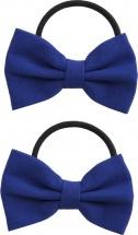 Резинки для волос Mary Poppins Бантики 2 шт, синий