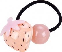 Резинка для волос Mary Poppins Клубничка, розовый