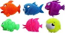 Игрушка-антистресс Рыбка со светом