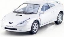 Машинка Kinsmart Toyota Celica, серебристый