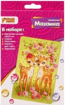 Мозаика алмазная Color Puppy Оленята