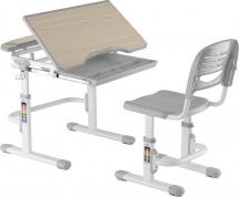 Парта-трансформер FunDesk Sorriso Grey + стул