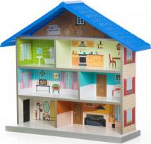 Кукольный домик MiMi, синий