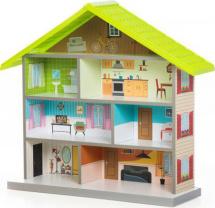 Кукольный домик MiMi, зеленый