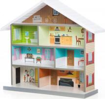 Кукольный домик MiMi, белый