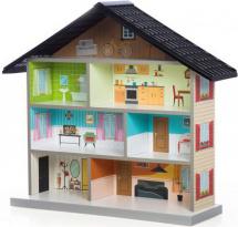 Кукольный домик MiMi, черный