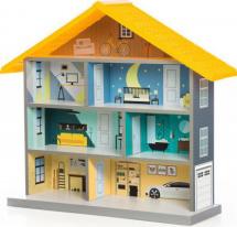 Игровой домик BiBi, желтый