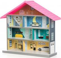Игровой домик BiBi, розовый