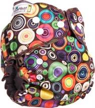 Многоразовый подгузник GlorYes Optima (3-18 кг) радуга