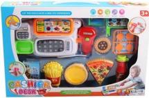 Кассовый аппарат Наша игрушка 8 предметов