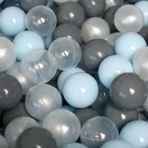 Шарики для сухого бассейна Romana Airball 150 шт, серый