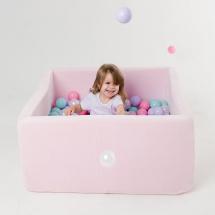 Сухой бассейн Romana Airpool BOX 150 шариков, розовый