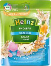 Каша Heinz молочная рисовая с грушей с Омега-3 с 4 мес 200 г