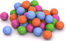 Шарики для сухого бассейна Нордпласт d 8 см 50 шт