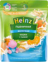 Каша Heinz молочная пшеничная с тыквой с Омега-3 с 5 мес 200 г