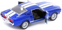 Машинка Kinsmart Ford Shelby GT500 1967, синий