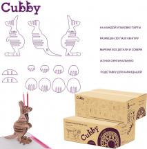 Парта растущая FunDesk Cubby Lupin Grey со стульчиком