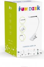 Лампа FunDesk LS4 White настольная светодиодная