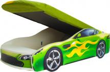 Чехол для матраса Бондмобиль, зеленый